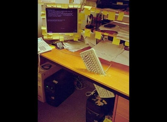 Office Prank Computer Cleaning Service